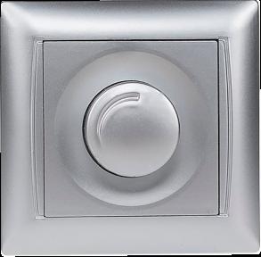 Світлорегулятор 3512 срібло PRIMERA Luxel