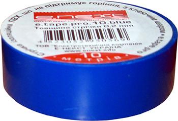 Ізолента E.Next e.tape.stand. Синя 20м