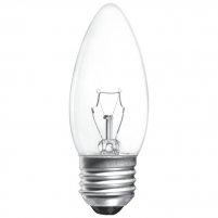 Лампа прозора свічка 60W E27 Іскра