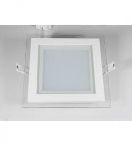 Панель світлодіодна DLSG-12N квадратна 12W 4000K Luxel