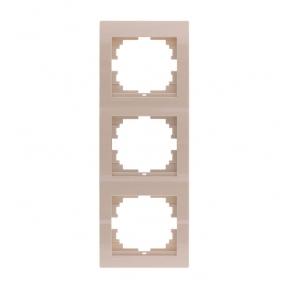 Deriy Крем Рамка 3-а вертикальна