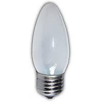 Лампа свічка матова В35 40W E27 froster Philips