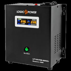 ИБП с правильной синусоидой LogicPower LPY- W - PSW-800VA+ (560Вт), ток заряда 5A/15A, 12В
