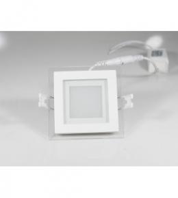 Панель світлодіодна DLSG-6N квадратна 6W 4000K Luxel