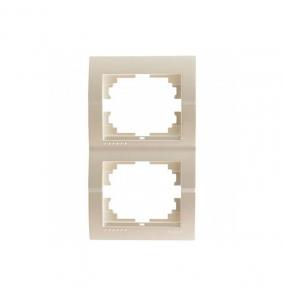 Deriy Перл/Білий металік Рамка 2-а вертикальна