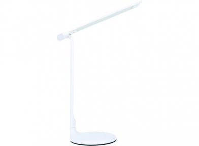Світильник LED Luxel настільний 10w+нічник 150*150*600мм білий (шт.)