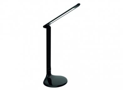 Світильник LED Luxel настільний 10w+нічник150*150*600мм чорний