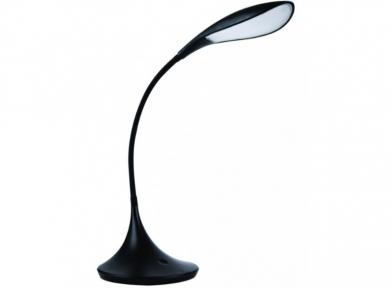 Світильник LED Luxel настільний 9w 170*170*670mm чорний (шт.)