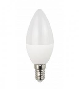 Лампа світлодіодна свічка 6W 4000K E14 Eco 045-NE