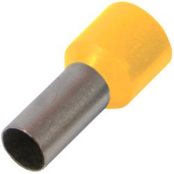 Наконечник ізол/втулк.E.Next e.terminal.stand.e2508. 2,5 кв.мм, жовтий