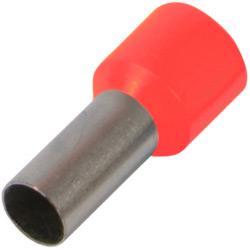 Наконечник ізол/втулк.E.Next e.terminal.stand.e4009.red 4,0 кв.мм, червоний
