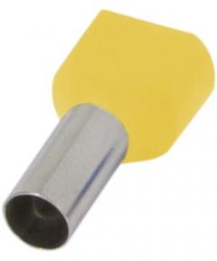 Наконечник ізольов.E.Next e.terminal.stand.te.1508 2*1,5 кв.мм Жовтий
