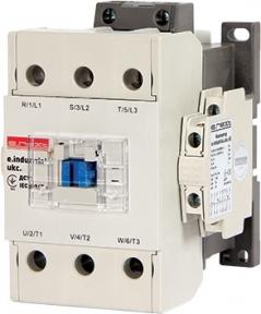 Контактор E.Next e.industrial.ukc 220. 75А 3P 1no+1nc