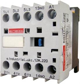 Контактор E.Next e.industrial.ukc.12Am 220В 1nc