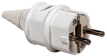 Вилка переносна E.Next e.plug.pro.2п.16А 220В (012)
