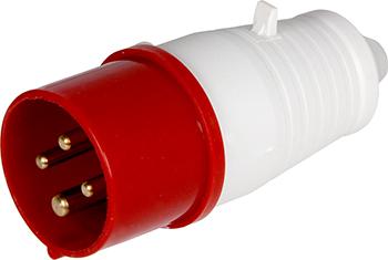 Вилка переносна E.Next e.plug.pro.4п.32А 380В (024)