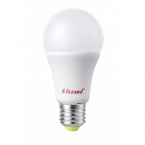 Лампа світлодіодна куля A60 15W E27 6400K lezard