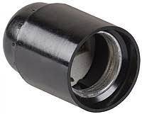 Патрон карболітовий Е-27 чорний звичайний