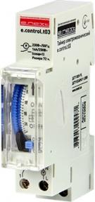Таймер електромеханічний E.Next e.control.t03