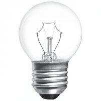 Лампа прозора куля сферична 40W E27 Іскра