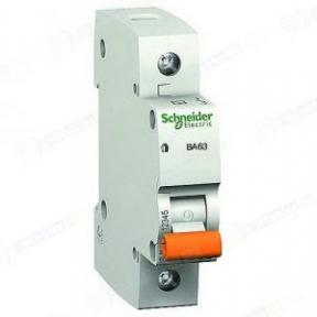 Вимикач автоматичний BA63 1р 25А С Schneider Electric