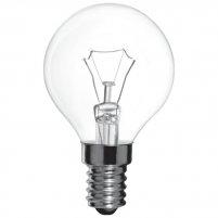 Лампа прозора куля сферична 60W E14 Іскра