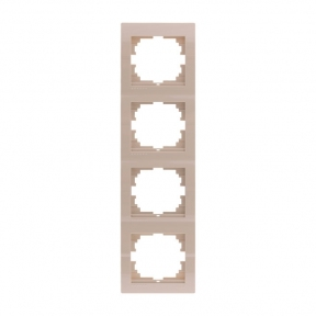 Deriy Крем Рамка 4-а вертикальна