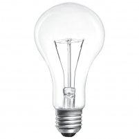 Лампа прозора куля 60W E27 230V Іскра