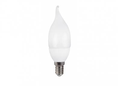 Лампа світлодіодна 041-N свічка вітрова 7W 220V E14 Luxel
