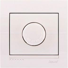 Світлорегулятор Deriy 702-0202-115 800W білий Lezard