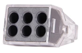 Клемна колодка E.Next e.lc.pro.ac.6 (5шт)