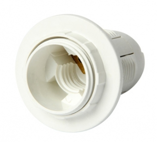 Патрон пластиковий E14 білий s9100006 E.next
