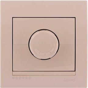 Світлорегулятор Deriy 702-0303-115 800W крем Lezard