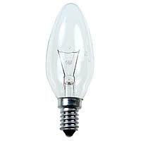 Лампа свічка прозора В35 40W E14 clear Philips