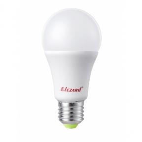 Лампа світлодіодна куля A60 9W E27 2700K lezard