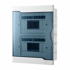 Бокс для автомат 730-1000-016 ЩРВ-П-16-модуль внутр Lezard