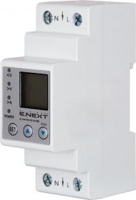 Лічильник E.Next 1Ф w06 зах і контр напр і стр електронний