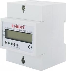 Лічильник E.Next 3Ф 5(100) електронний