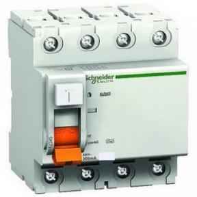 Пристрій захисного відключення ПЗВ BД63 4р-40 А 30МА Schneider Electric