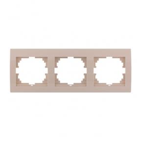 Deriy Крем Рамка 3-а горизонтальна