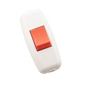 Вимикач для бра 715-1101-611 біло/червоний Lezard