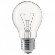 Лампа куля прозора A55 40W E27 clear Philips